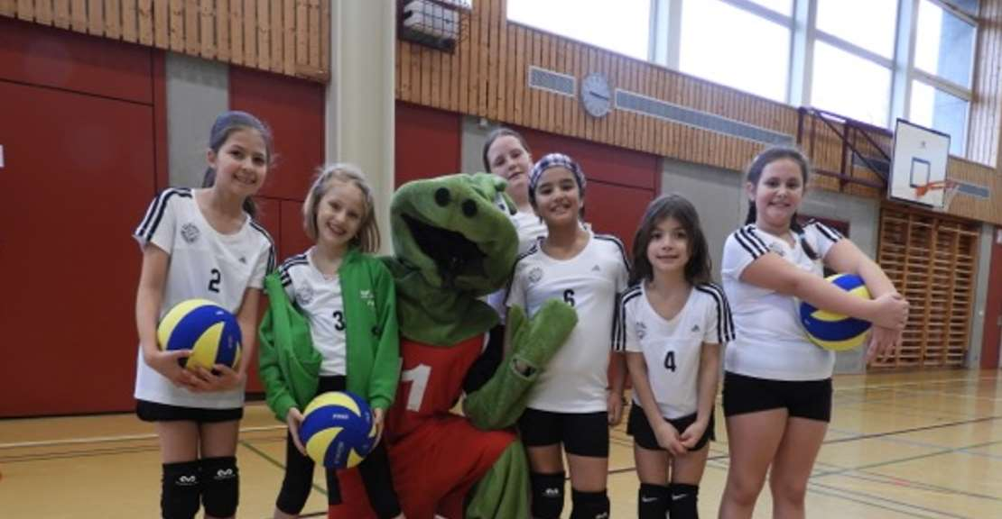 Erstes Regionales Kids Volley Turnier in Düdingen